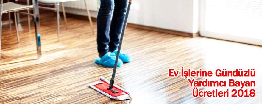 Ev İşlerine Gündüzlü Yardımcı Bayan Ücretleri 2018