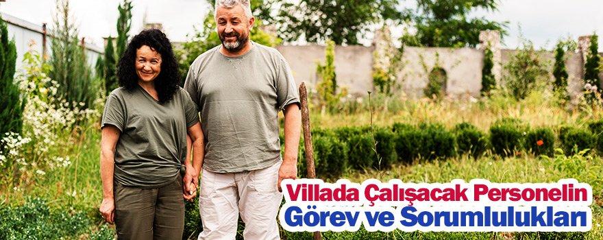 Villada çalışacak karı koca yardımcıların görevleri
